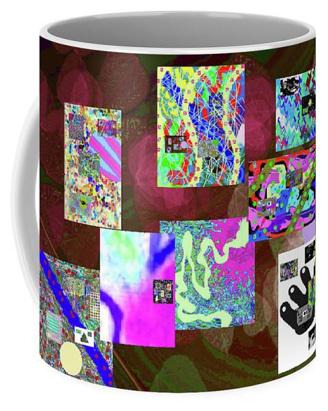 Walter Paul Bebirian Coffee Mug featuring the digital art 5-25-2015cabcdefgh by Walter Paul Bebirian