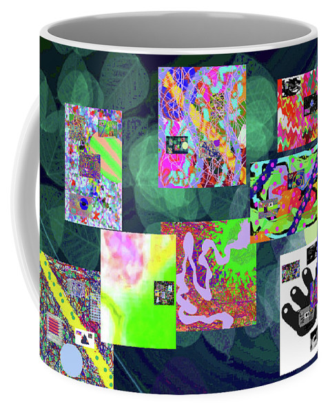 Walter Paul Bebirian Coffee Mug featuring the digital art 5-25-2015cabcdefghijklmnopqrtuvwxyzab by Walter Paul Bebirian