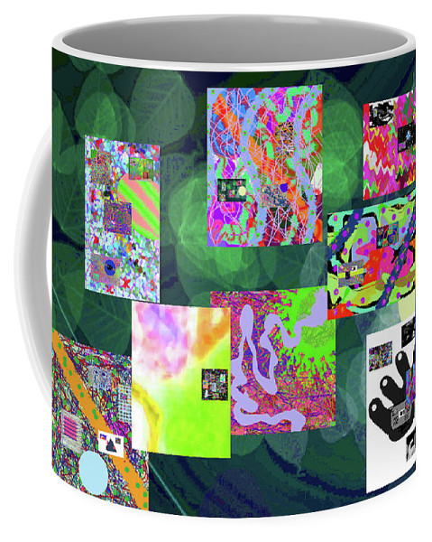 Walter Paul Bebirian Coffee Mug featuring the digital art 5-25-2015cabcdefghijklmnopqrtuvwxyzabcd by Walter Paul Bebirian