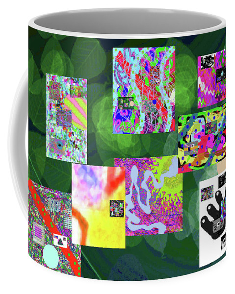 Walter Paul Bebirian Coffee Mug featuring the digital art 5-25-2015cabcdefghijklmnopqrtuvwxyzabcdefg by Walter Paul Bebirian