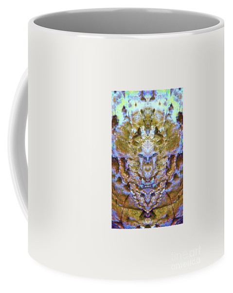 Coffee Mug featuring the photograph Abstract by James Christiansen