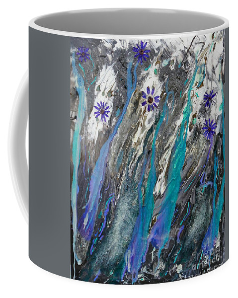 Abstract Painting Coffee Mug featuring the photograph Abstract by Leanne Matson