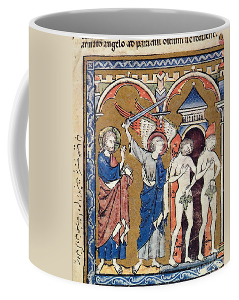 1250s Coffee Mug featuring the photograph Adam And Eve by Granger