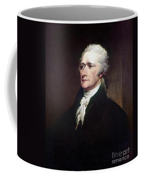 1806 Coffee Mug featuring the photograph Alexander Hamilton by Granger