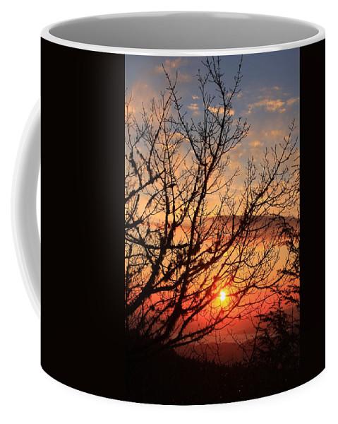 Coffee Mug featuring the photograph Blue Ridge Sunrise by Mountains to the Sea Photo