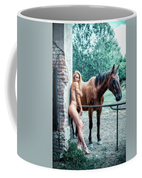 Adult Coffee Mug featuring the photograph Faith by Traven Milovich