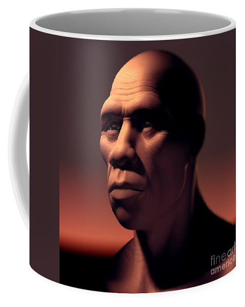 Digitally Generated Image Coffee Mug featuring the photograph Homo Sapiens by Science Picture Co