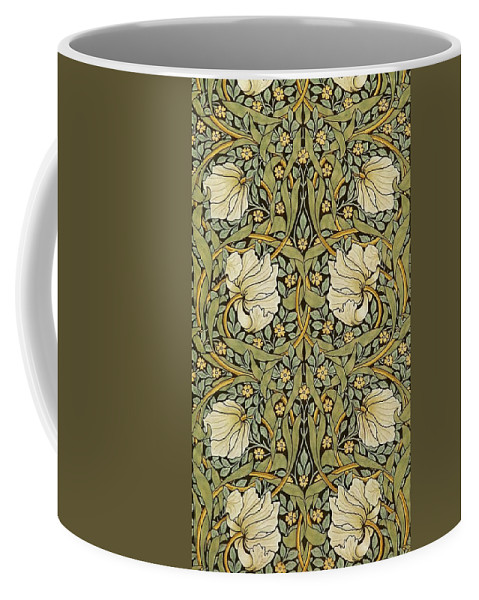William Morris Coffee Mug featuring the painting Pimpernel by William Morris
