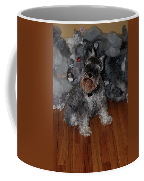 Dogs Coffee Mug featuring the photograph Stuffed Animals by Rob Hans