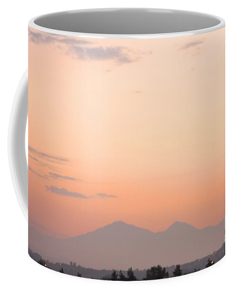 Sunset Coffee Mug featuring the photograph Sunset Moreno Valley Ca by Tommy Anderson