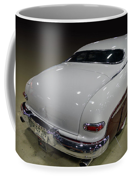 Merc Coffee Mug featuring the photograph 50 Merc Sled by Bill Dutting