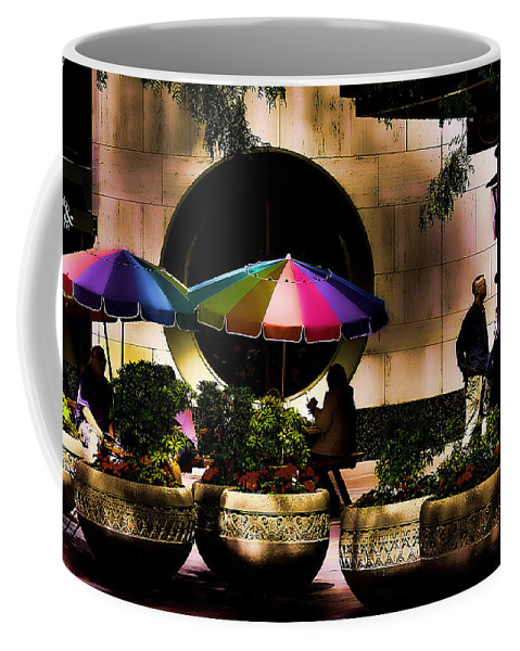 Hdr Coffee Mug featuring the photograph 5th And Pine by David Patterson