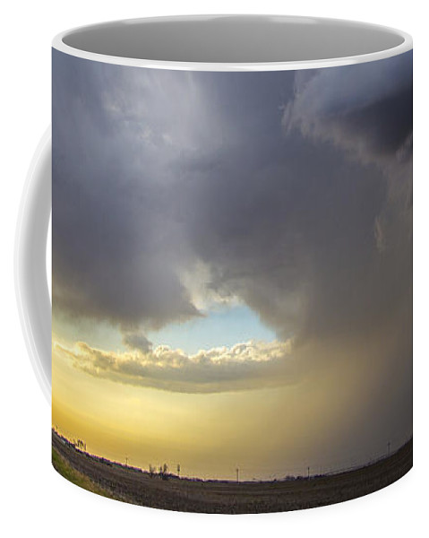 Nebraskasc Coffee Mug featuring the photograph 2nd Storm Chase 2015 by NebraskaSC