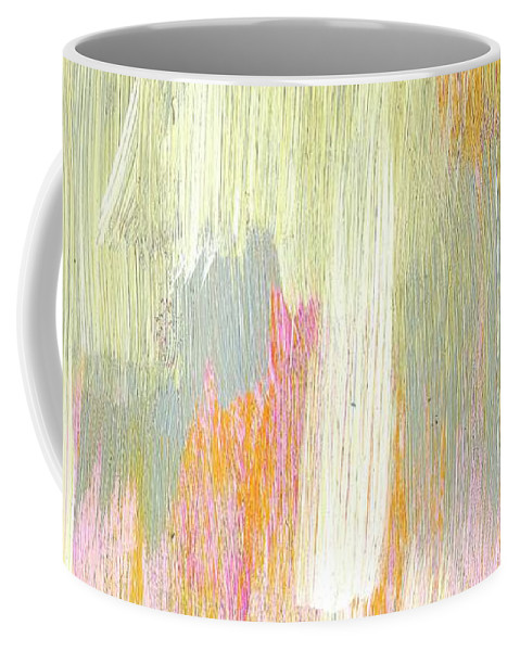 Paint Coffee Mug featuring the painting #6 by Alina Debris