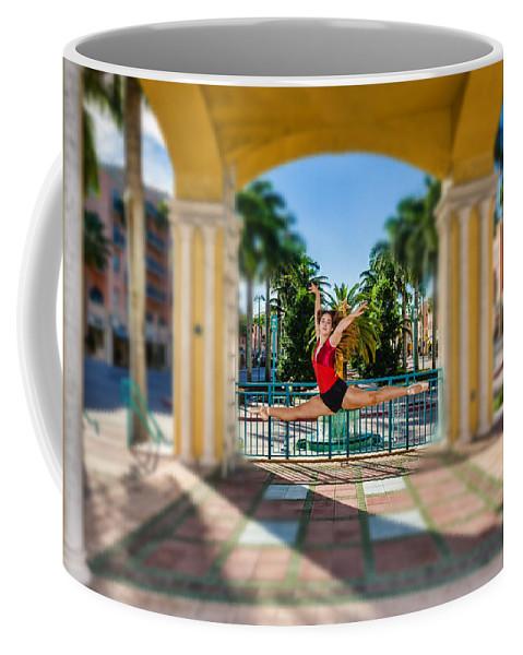 Ballerina Coffee Mug featuring the photograph Ballerina by Bill Howard