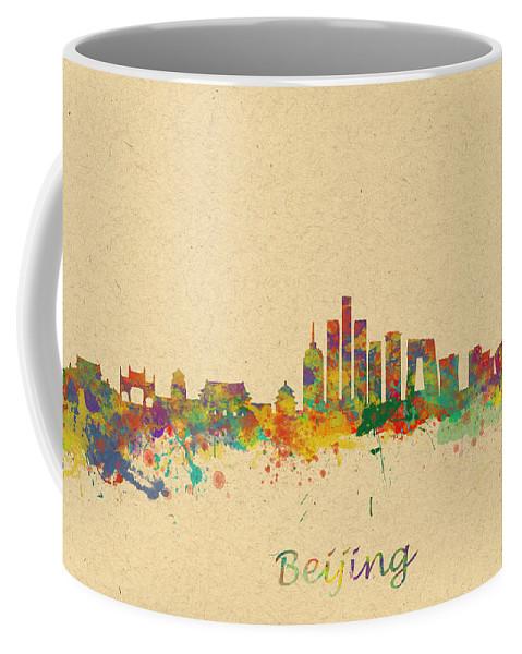 Beijing Coffee Mug featuring the photograph Beijing China Skyline by Chris Smith