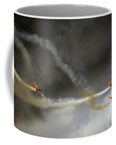 Blades Extra 300 Coffee Mug featuring the photograph Blades by Angel Ciesniarska