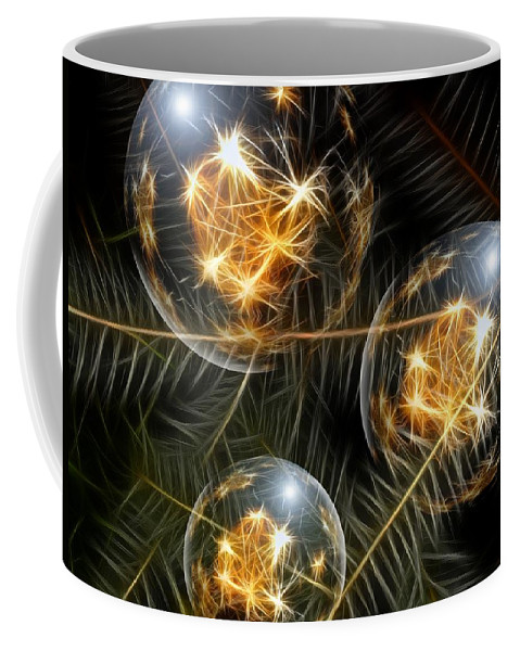 Decoration Coffee Mug featuring the photograph Christmas by FL collection
