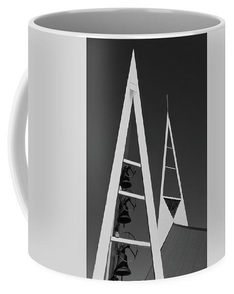 Church Coffee Mug featuring the photograph Icelandic Church by Kobi Amiel