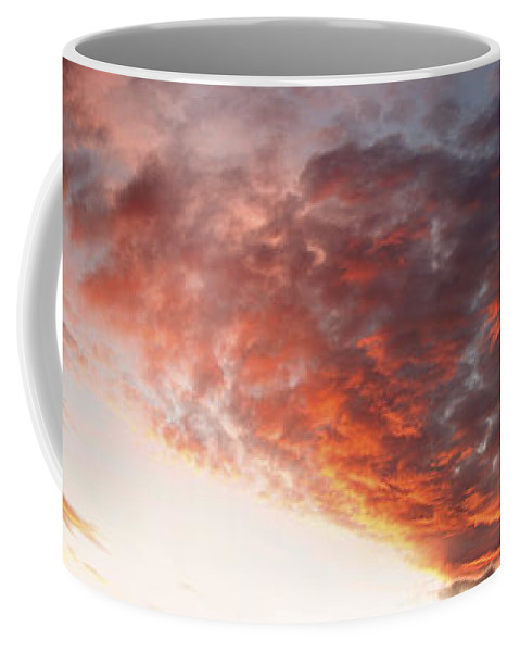 Clouds Coffee Mug featuring the photograph Summer Sky by Les Cunliffe