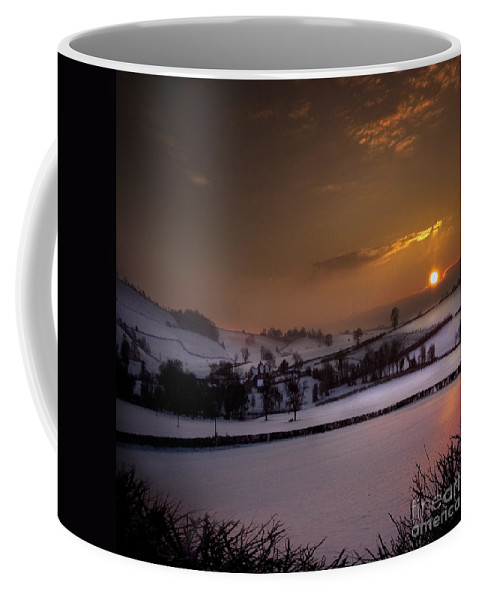 Countryside Coffee Mug featuring the photograph The Winter Time by Angel Tarantella