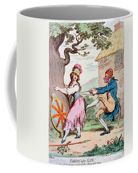 1793 Coffee Mug featuring the photograph Thomas Paine (1737-1809) by Granger