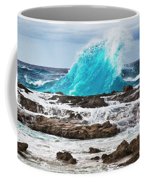 Wave Coffee Mug featuring the photograph Wave by Bruce Beck
