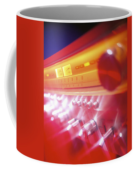Amp Coffee Mug featuring the photograph 60s Amp by Robert Ponzoni
