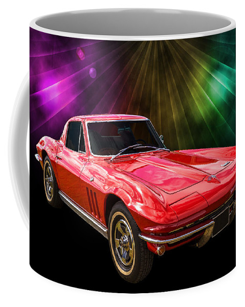 Car Coffee Mug featuring the photograph 66 Corvette by Keith Hawley
