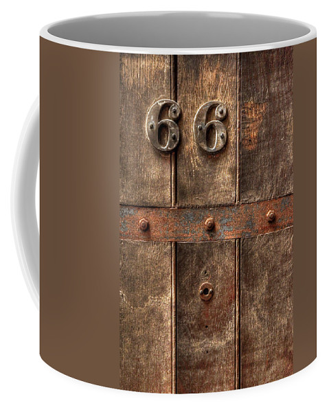 Abandoned Coffee Mug featuring the photograph 66... by Evelina Kremsdorf
