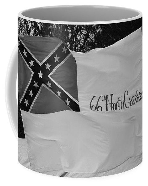 Civil War Coffee Mug featuring the photograph 66th North Carolina by Tommy Anderson