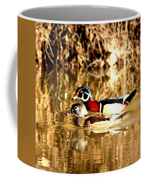 Wood Duck Coffee Mug featuring the photograph 6980 - Wood Duck by Travis Truelove