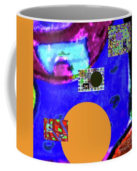 Walter Paul Bebirian Coffee Mug featuring the digital art 7-20-2015dabcdefghi by Walter Paul Bebirian