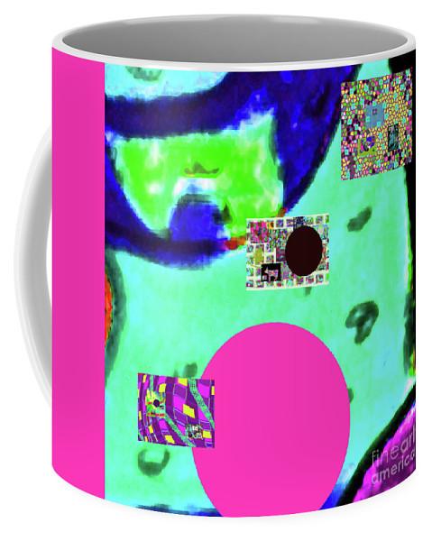 Walter Paul Bebirian Coffee Mug featuring the digital art 7-20-2015dabcdefghijklmnop by Walter Paul Bebirian