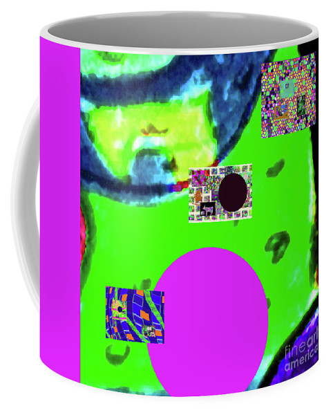Walter Paul Bebirian Coffee Mug featuring the digital art 7-20-2015dabcdefghijklmnopqrtu by Walter Paul Bebirian