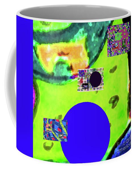 Walter Paul Bebirian Coffee Mug featuring the digital art 7-20-2015dabcdefghijklmnopqrtuvwxy by Walter Paul Bebirian