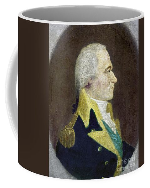 18th Century Coffee Mug featuring the photograph Alexander Hamilton by Granger