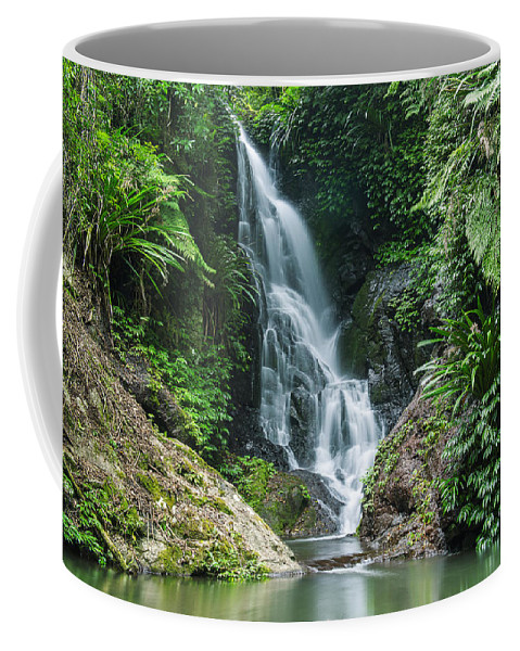 Australia Coffee Mug featuring the photograph Beautiful Waterfall by Rob D