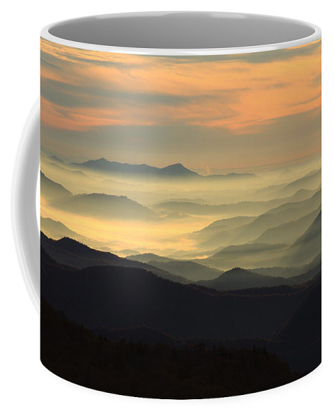 Coffee Mug featuring the photograph Blue Ridge by Mountains to the Sea Photo
