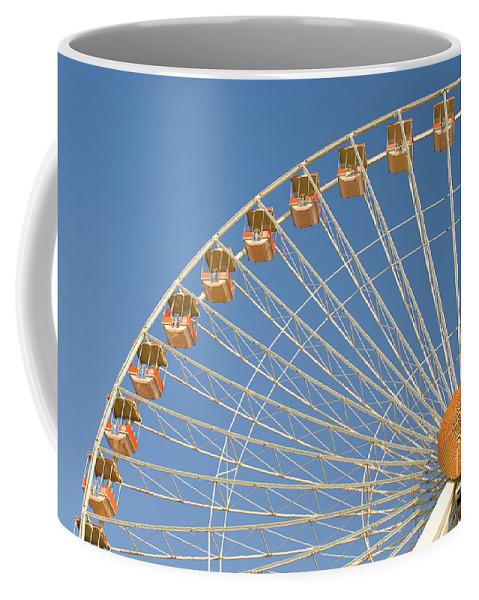 Fun Coffee Mug featuring the photograph Ferris Wheel by Anthony Totah