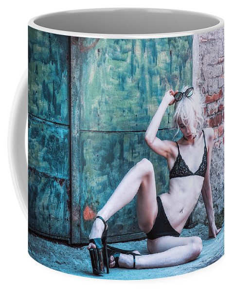 Adult Coffee Mug featuring the photograph Kelevra by Traven Milovich