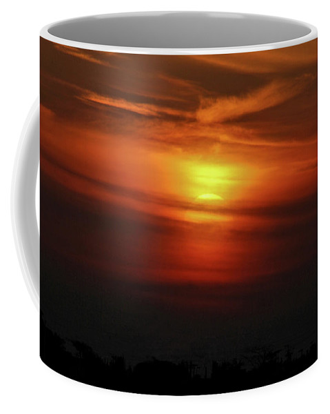 Sunset Coffee Mug featuring the photograph 7- Sunset by Joseph Keane