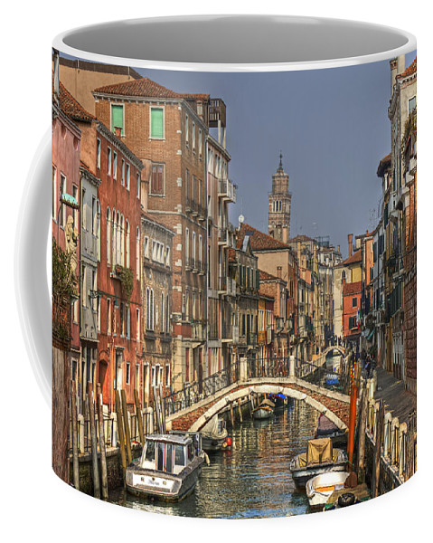 Architecture Coffee Mug featuring the photograph Venice - Italy by Joana Kruse