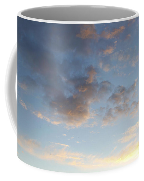 Cloudscape Coffee Mug featuring the photograph Clouds by Les Cunliffe