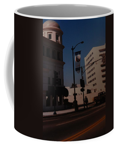Hollywood California Coffee Mug featuring the photograph 75th Hollywood by Rob Hans