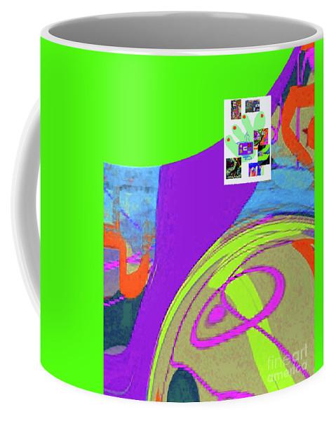 Walter Paul Bebirian Coffee Mug featuring the digital art 8-14-2015fabcdefghijklmnopqrtuvwxyzabcd by Walter Paul Bebirian