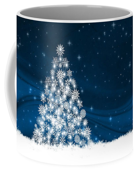 Decoration Coffee Mug featuring the mixed media Christmas by FL collection