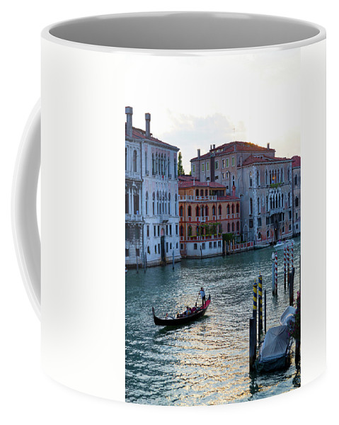 Venice Coffee Mug featuring the photograph Gondola, Canals Of Venice, Italy by Bruce Beck