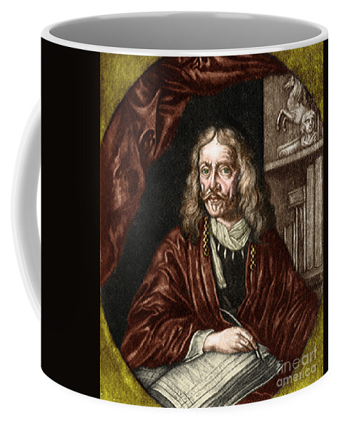 Science Coffee Mug featuring the photograph Johannes Hevelius, Polish Astronomer by Science Source