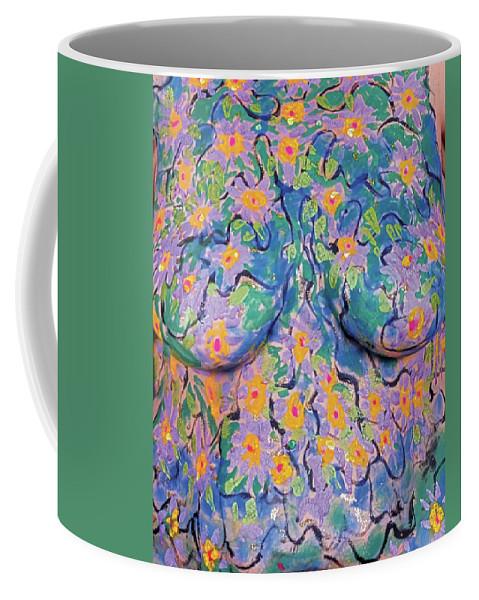 Hadassah Greater Atlanta Coffee Mug featuring the photograph 8. Joyce English, Artist, 2017 by Best Strokes - formerly Breast Strokes - Hadassah Greater Atlanta